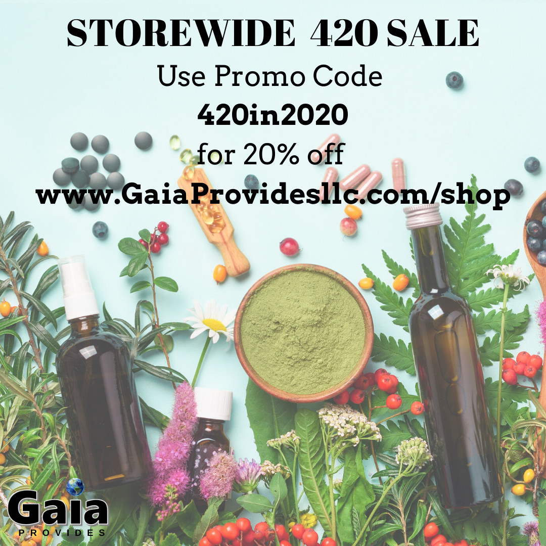 Gaia Provides 20% Off Storewide!