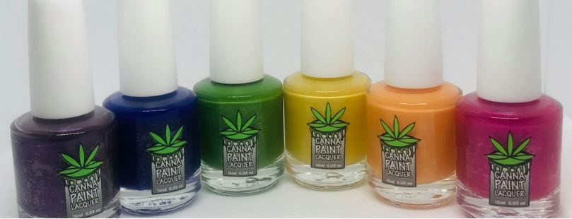 Canna Paint CBD Nail Lacquer
